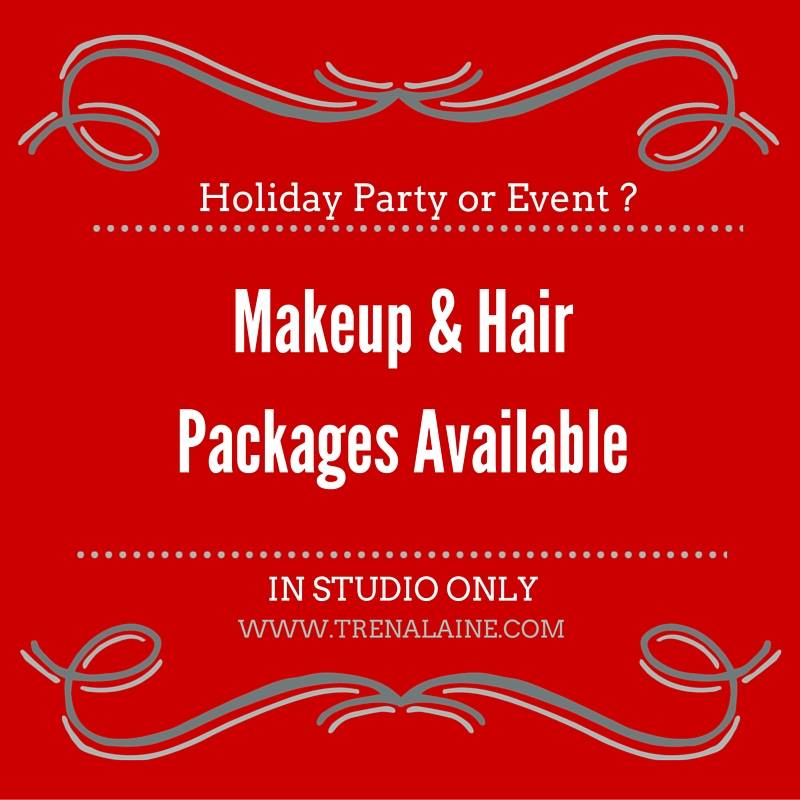 Holiday Makeup Amp Hair Packages Available Trena Laine Makeup Artist