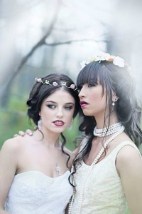 Autumn Glam Fairytale via Calgary Bride